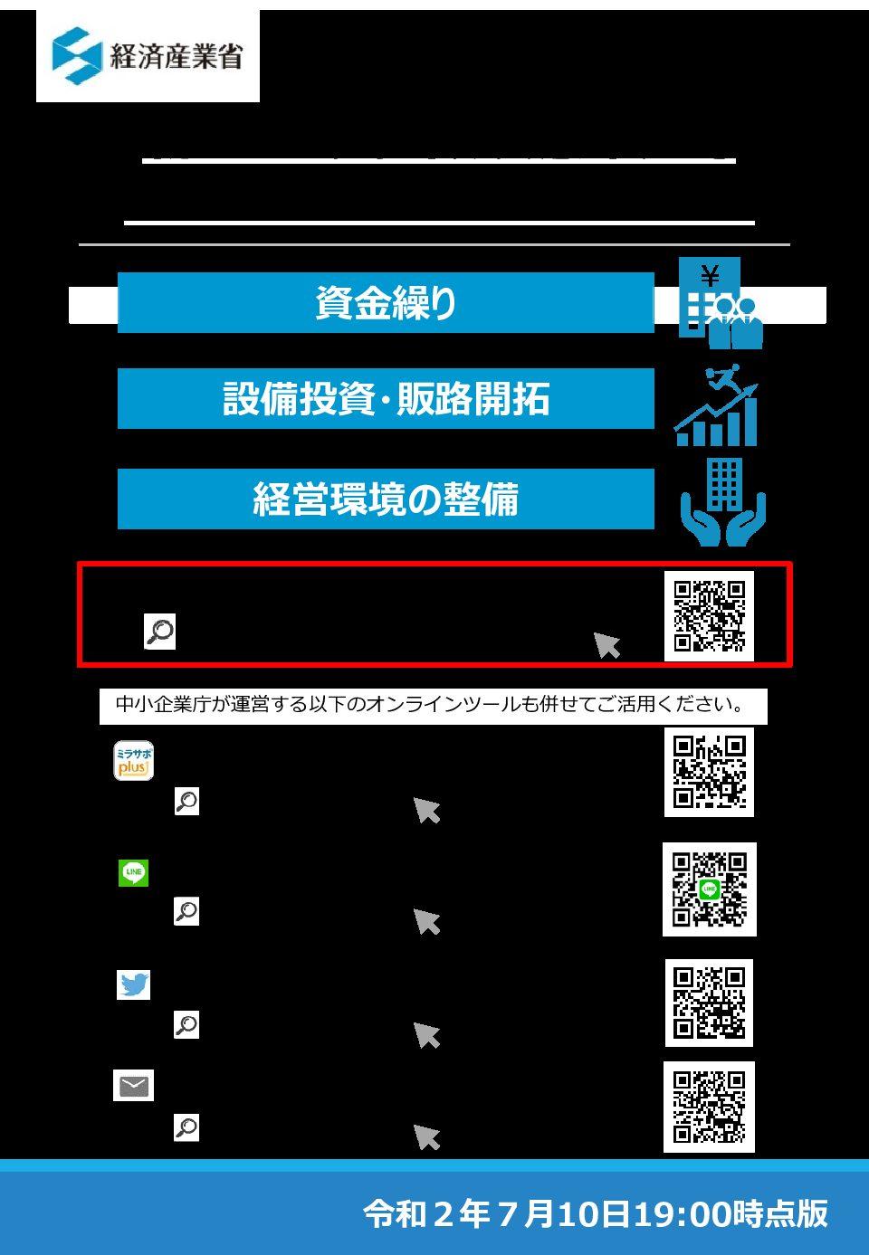【経営支援】経済産業省のパンフレットが更新されました